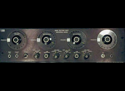 Urei / Jbl 565 Filter Set