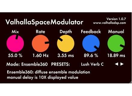 Valhalla DSP ValhallaSpaceModulator