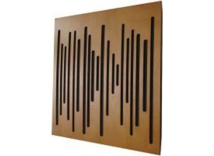Vicoustic wave wood
