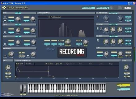 VirSyn Micro-Tera (Offert par Recording Musicien) [Freeware]
