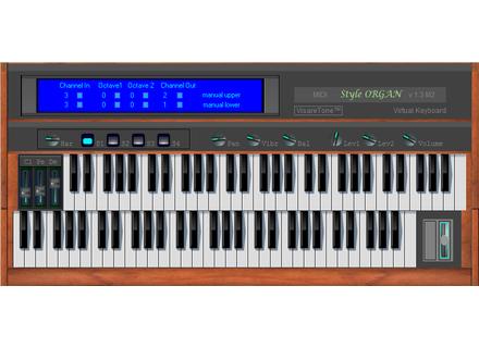 VisareTone MIDI Style ORGAN