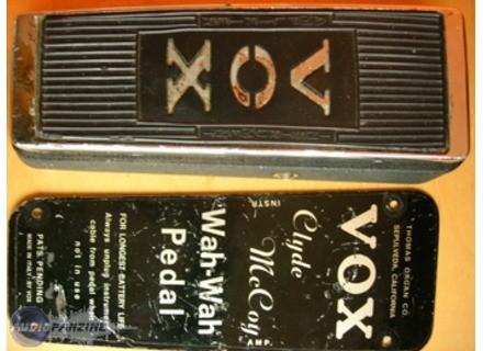 Vox Clyde Mccoy Signature Vintage