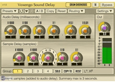 Voxengo Sound Delay [Freeware]