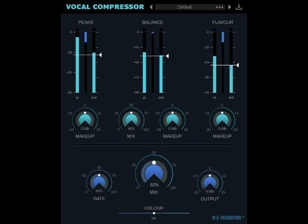 W.A. Production Vocal Compressor