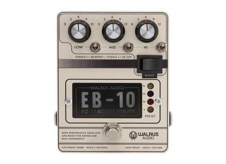 Walrus Audio EB-10 Preamp/EQ/Boost