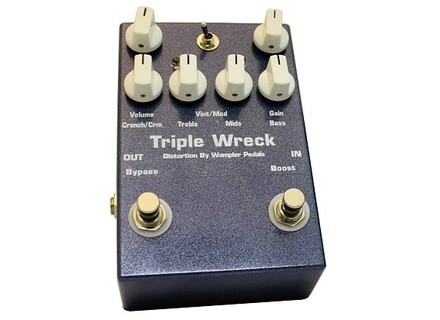 Wampler Pedals Triple Wreck Distortion