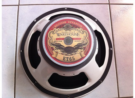Warehouse Guitar Speakers ET65