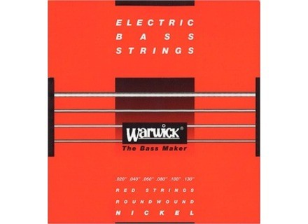 Warwick Red Strings Nickel Plated Steel