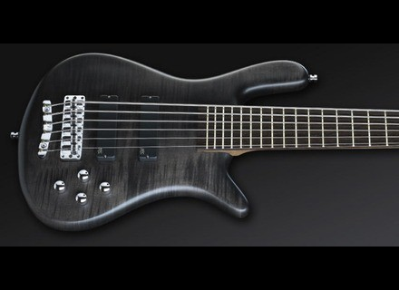 Warwick Streamer LX 6 - Nirvana Black Coloured Oil
