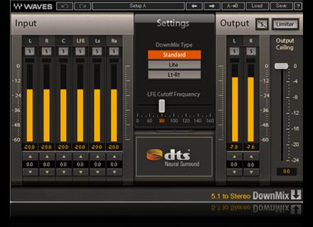 Waves DTS Neural Surround DownMix