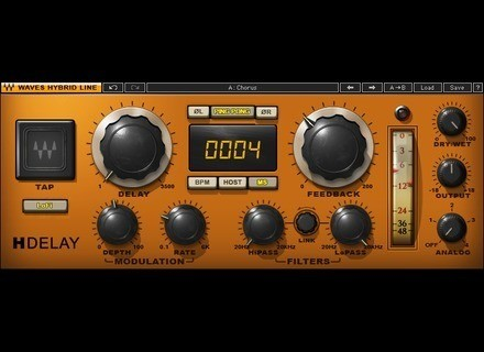 Waves Hybrid HDelay