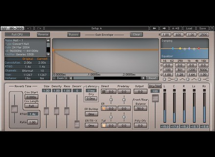 Waves IR360 Convolution Reverb