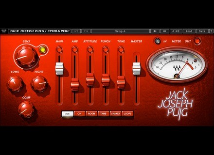 Waves JJP Cymbals & Percussions