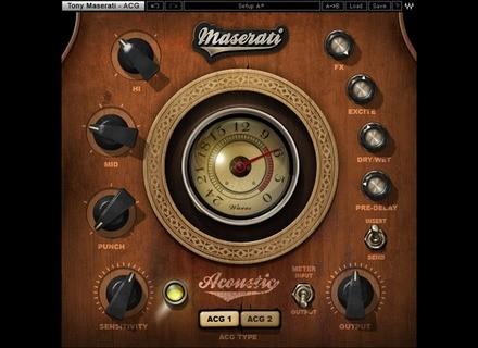 Waves Maserati ACG Acoustic Guitar Designer