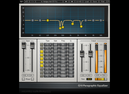 Waves Q10 Equalizer
