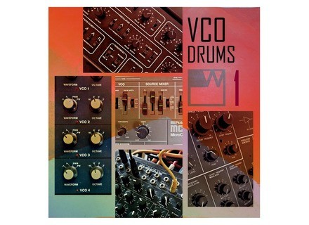 waveshaper VCO Drums VOL1