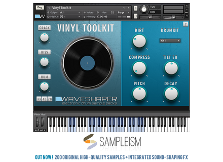 waveshaper Vinyl Toolkit