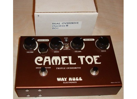 Way Huge Electronics Camel Toe Triple Overdrive