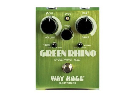 Way Huge Electronics WHE202 Green Rhino Overdrive