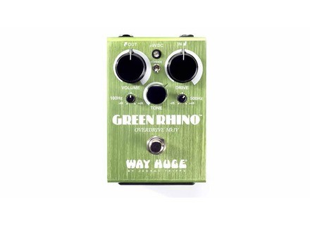 Way Huge Electronics WHE207 Green Rhino Overdrive MKIV