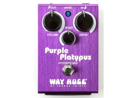 Way Huge Electronics WHE800 Purple Platypus Octidrive mkII
