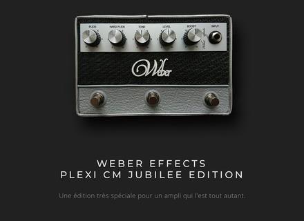 """Weber Effects Plexi CM """"Jubilee Edition"""""""