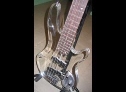 Wesley Guitars Acrylic Bass 5