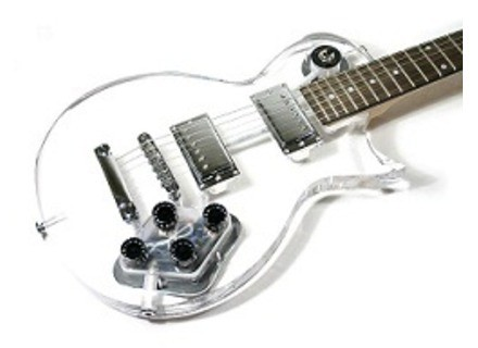 Wesley Guitars wesley acryl'o'paul transparent clear