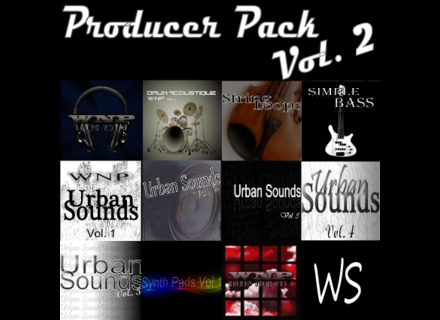 WSProAudio Producer Pack Vol. 2