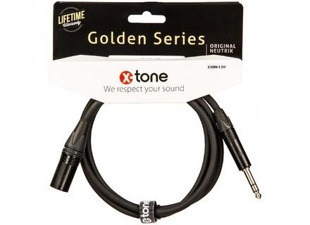 X-Tone Golden XLR/Jack Cable X3009
