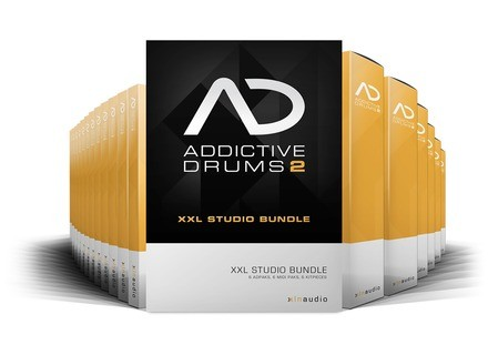 XLN Audio Addictive Drums 2 XXL Studio