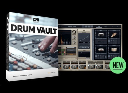 XLN Audio Drum Vault TrigPak