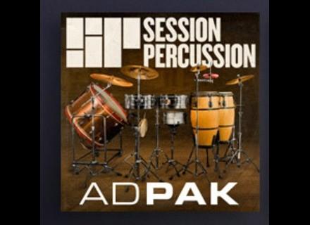 XLN Audio Session Percussion ADpak