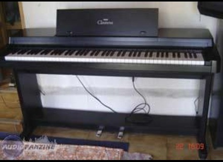 Le CLAVINOVA YAMAHA en version piano à queue »
