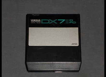 Yamaha DATA ROM CARTRIDGE