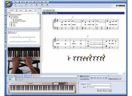 Yamaha Digital Music Notebook