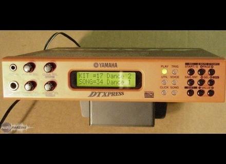 User reviews yamaha dtxpress module audiofanzine for Yamaha dtxpress review