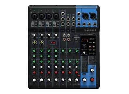 Vraie Petite Table De Mixage Avis Yamaha Mg10xu Audiofanzine