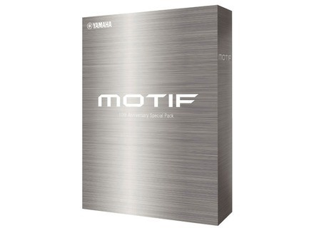 Yamaha Motif 10th Anniversay Special Pack
