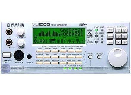 Yamaha Tone Generator Mu Manual