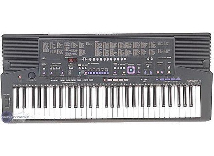 User reviews yamaha psr 410 audiofanzine for Yamaha psr 410 keyboard