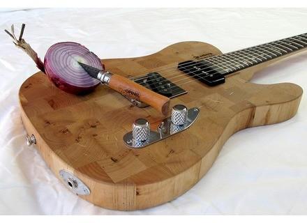 Zachary Guitars Ikea Butcher Block Tele