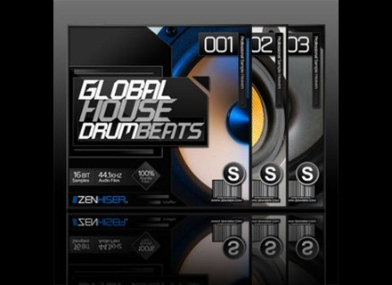 Zenhiser Pro Audio Global House Drum Beats