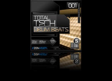 Zenhiser Pro Audio Total Tech Drum Beats 01
