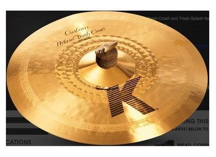 Zildjian K Custom Hybrid Trash Crash 15""