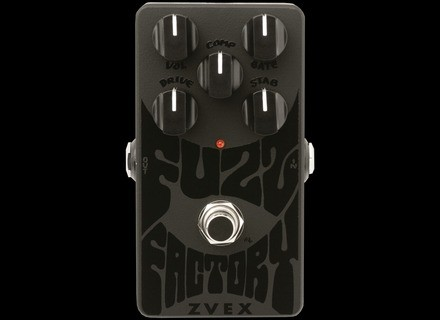 Zvex Black on Black Fuzz Factory