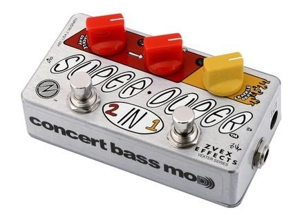 Zvex Super Duper Concert Bass Mod