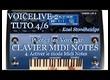 Voicelive 2 - Tuto 4/6 Français - Piloter Voix - Clavier Midi NOTES - 4. Activer le mode Midi Notes