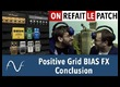 BIAS FX : la conclusion