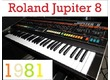 """""""Talking"""" with Roland Jupiter 8, TR-808, Juno 106, Juno 60, JX-3P, SH-101, and System 8"""